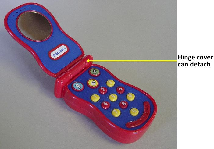 Picture of Recalled Toy Cell Phone
