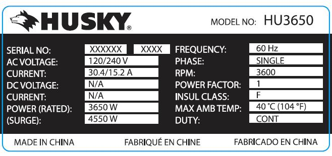 Picture of Husky Label
