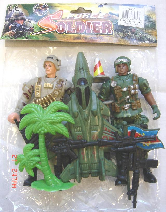 Picture of Recalled Force Soldier playset