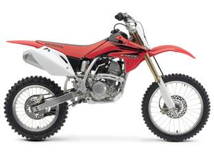 Picture of Recalled Off-Road Competition Motorcycle