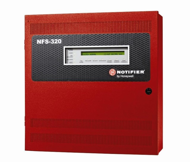 Picture of Recalled Notifier Fire Alarm Control Panel, NFS-320