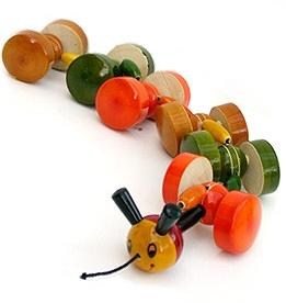 Picture of Katerpillar Pull Toy