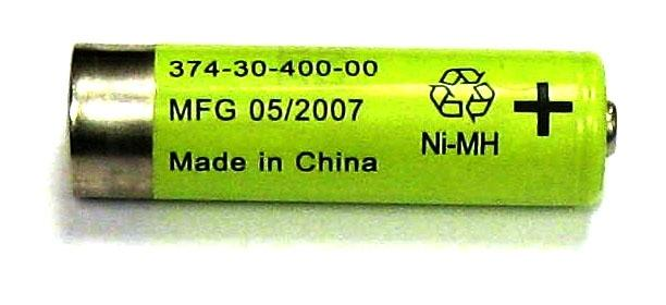 Picture of Recalled NIMH AA Rechargeable Battery