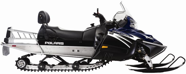Picture of Recalled Widetrak Snowmobile