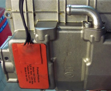 Picture of Recalled Engine Block and Battery Heater
