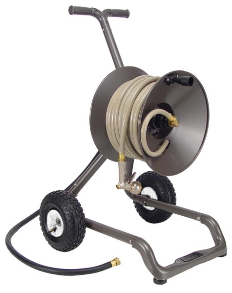 Picture of Recalled Portable Garden Hose Reel Cart and Wagon