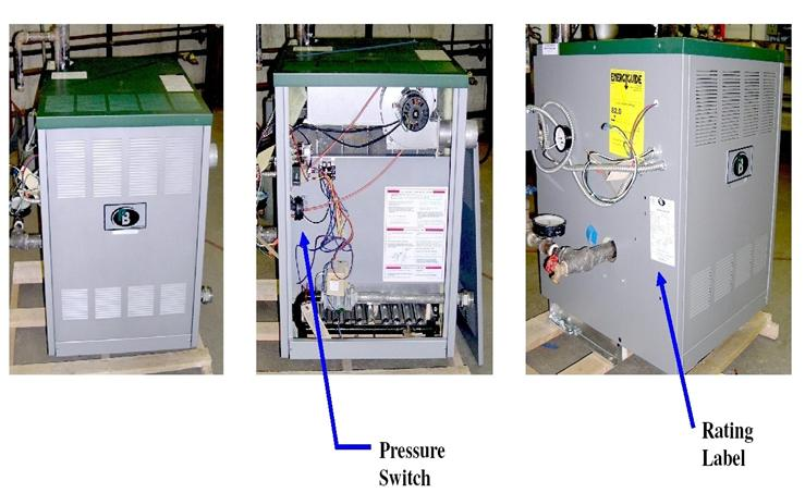 Picture of Recalled Series DE Gas Boilers