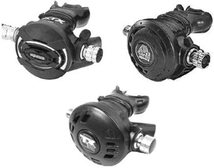 Picture of Recalled Scuba Diving Regulators
