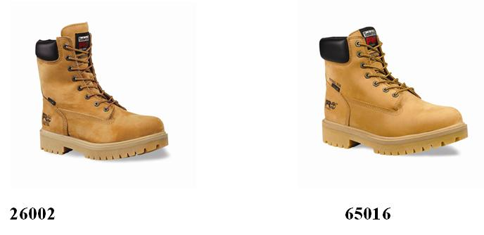 Picture of Recalled Timberland PRO Direct Attach Steel Toe Boot