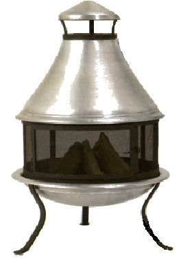 Picture of Recalled Aluminum Chimenea