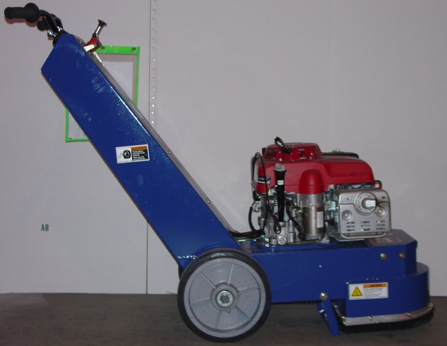 Picture of Recalled Blastrac BG 250 Series Concrete Grinder