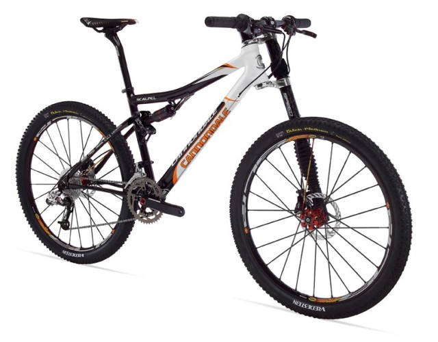 Picture of Recalled Cannondale 2008 model year 'Scalpel' mountain bikes
