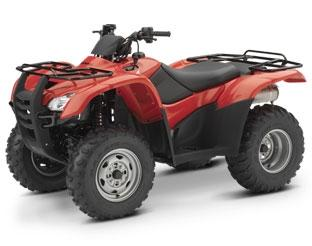 Picture of Recalled Model Year 2007-2008 TRX 420 Rancher ATV