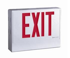 "Picture of Recalled ""Sure-Lite"" and ""AtLite"" Exit and Emergency Light"