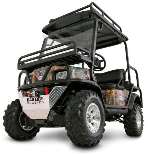 Picture of recalled Bad Boy Buggy XT and XTO Models
