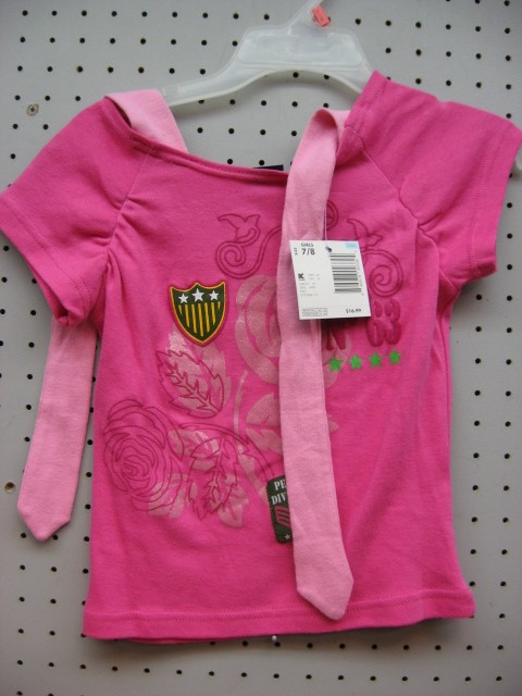 Picture of Recalled Girls' Clothing Sets - Top