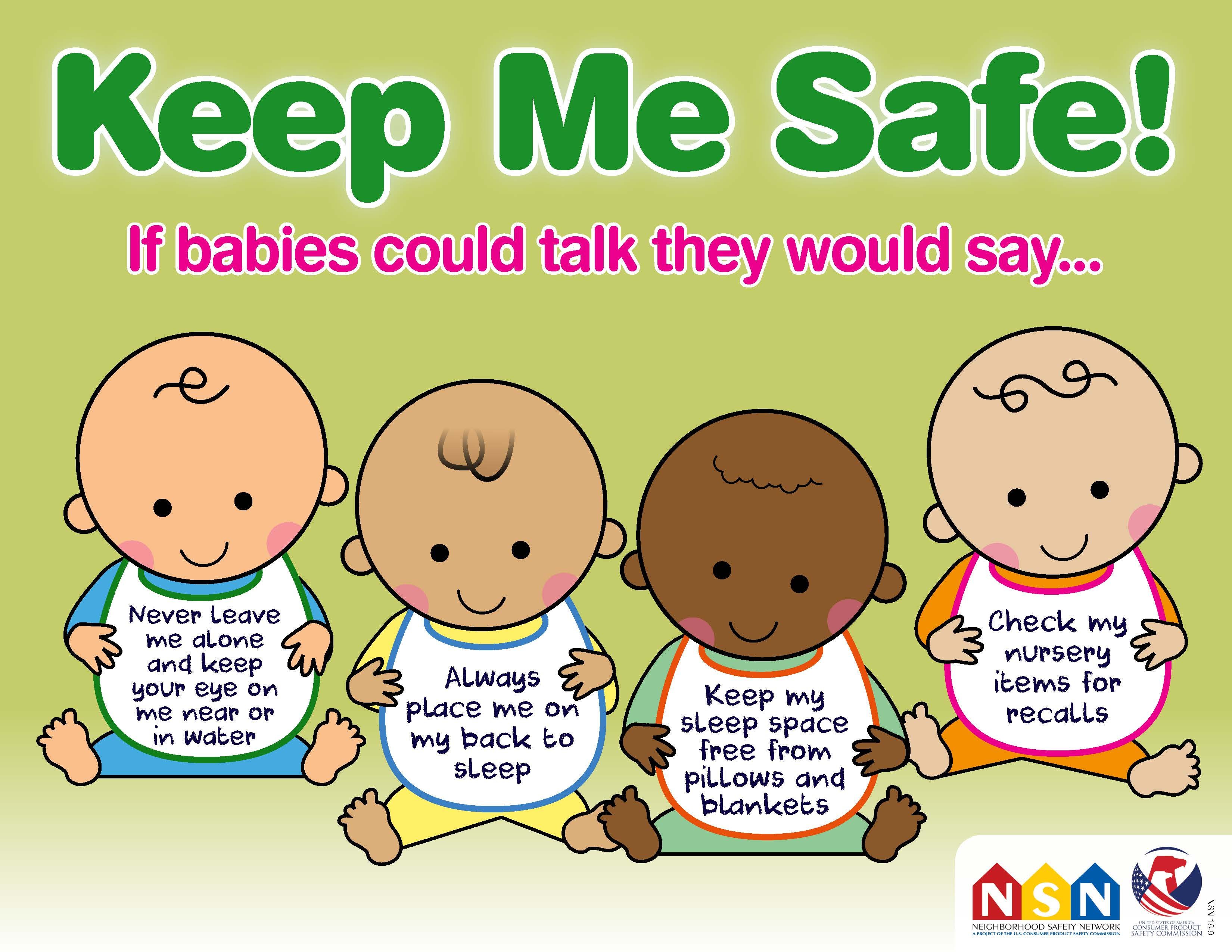 free sles for kids by mail no surveys keep me safe baby safety month 2018 cpsc gov 6486