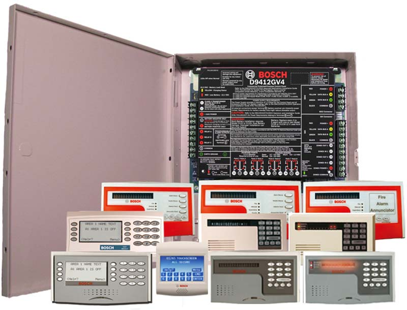 Bosch GV4 control panel.