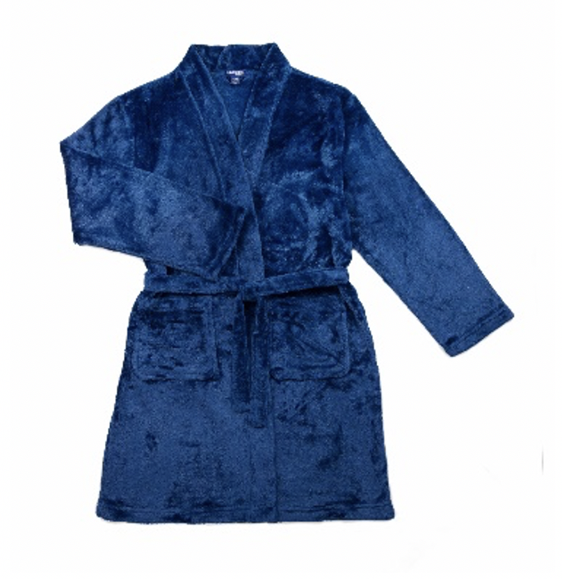 Recalled Sovereign Athletic children's robe - navy