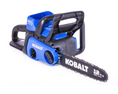 Recalled Kobalt 40-volt Lithium Ion 12-inch Cordless Electric Chainsaw