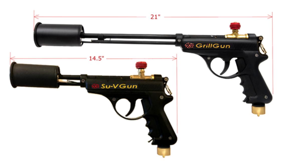 Recalled GrillBlazer Su-VGun and GrillGun Propane Torch Guns