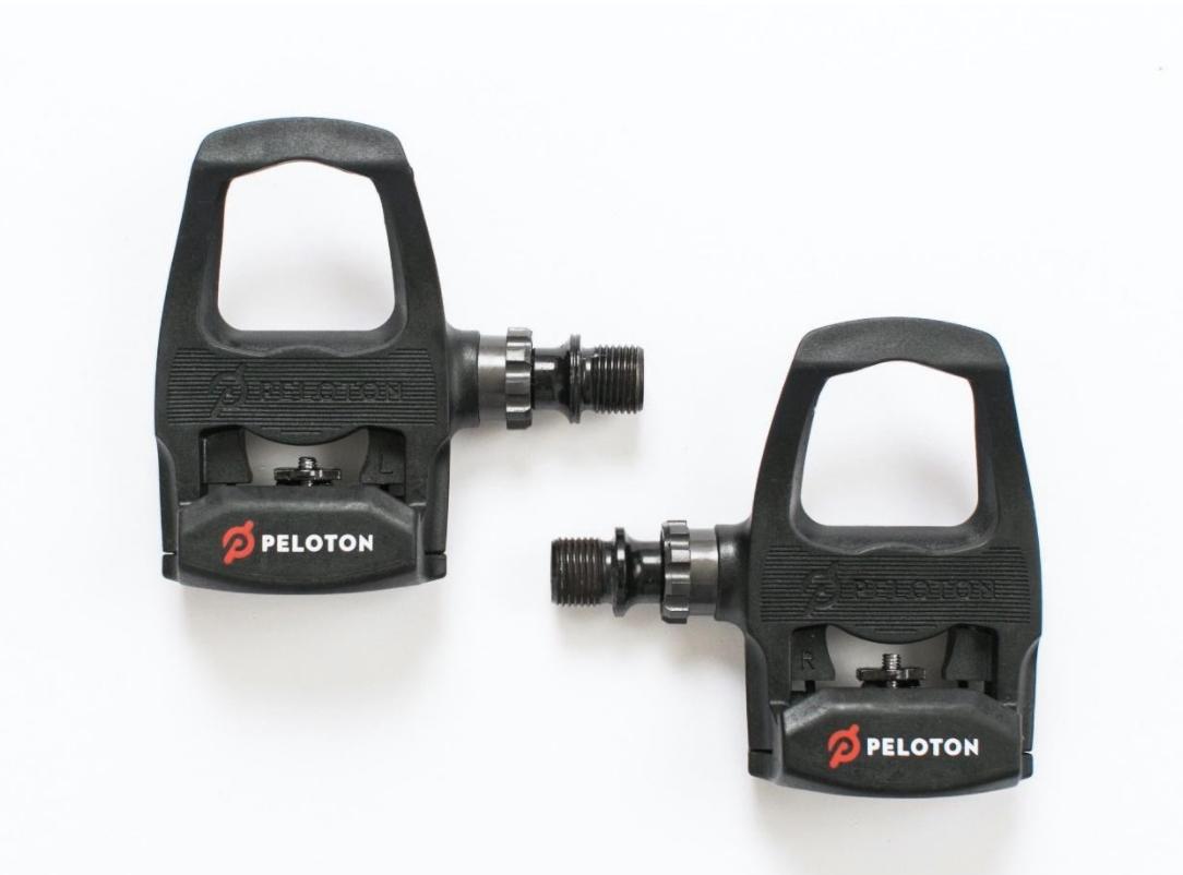 Recalled PR70P pedal with Orange Peloton Logo