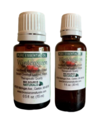 image of Bio Source Naturals Wintergreen and Birch Sweet Essential Oils