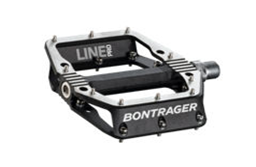 Bontrager Line Pro flat bicycle pedal (black)