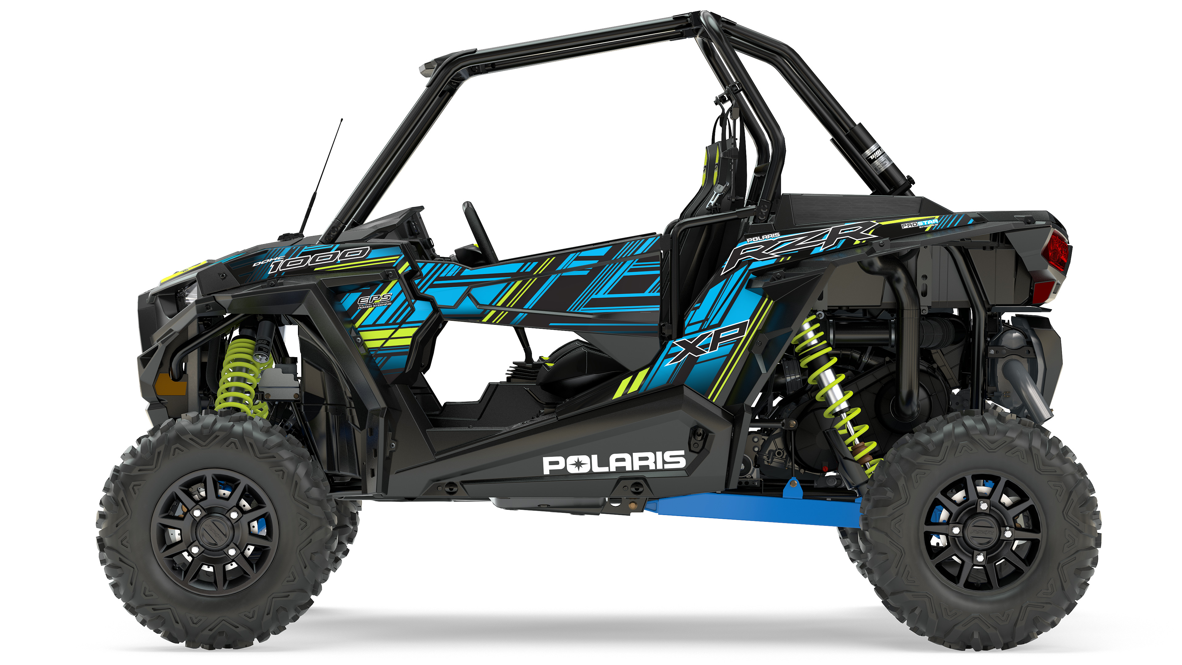 2017 RZR XP 1000 EPS VELOCITY BLUE