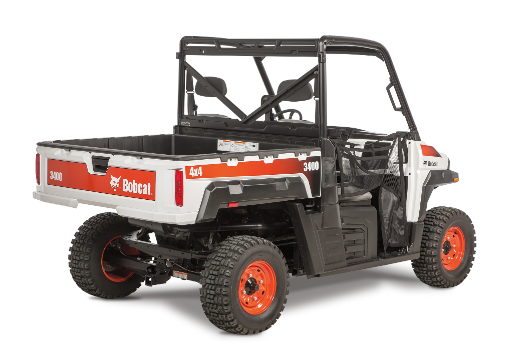 Recalled Bobcat 3400 utility vehicle