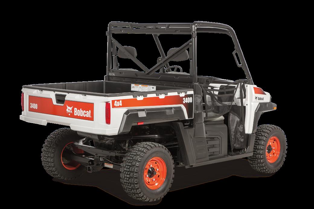 Recalled Bobcat 3400 utility vehicle