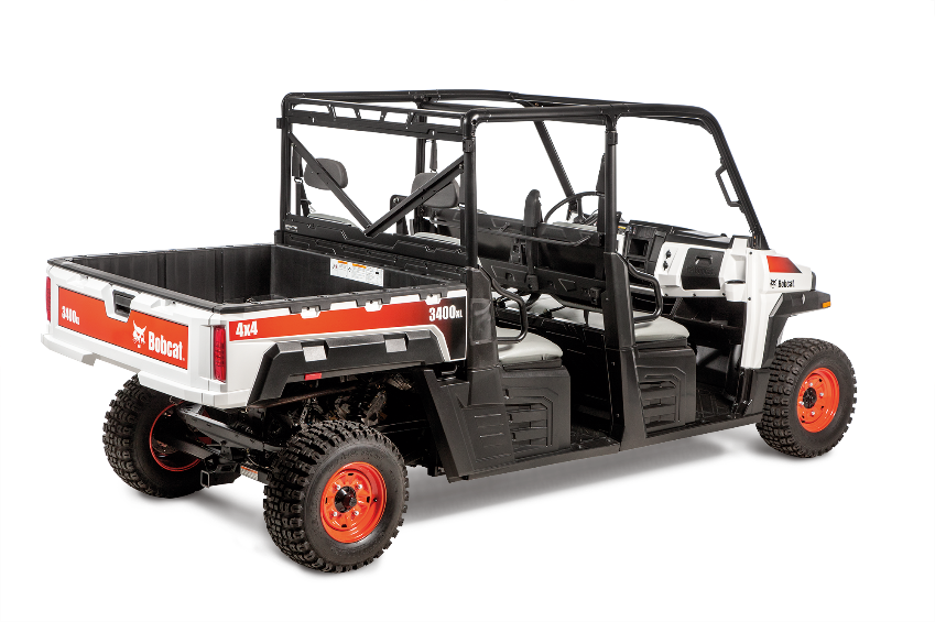 Recalled Bobcat 3400XL utility vehicle