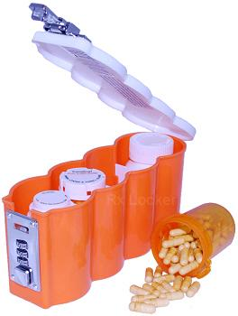 image of Medicine Bottle Storage Containers