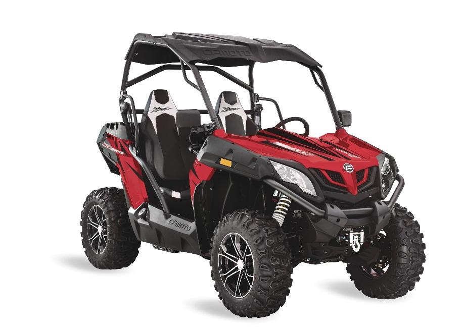 Recalled 2018 ZFORCE 500 Trail ROV