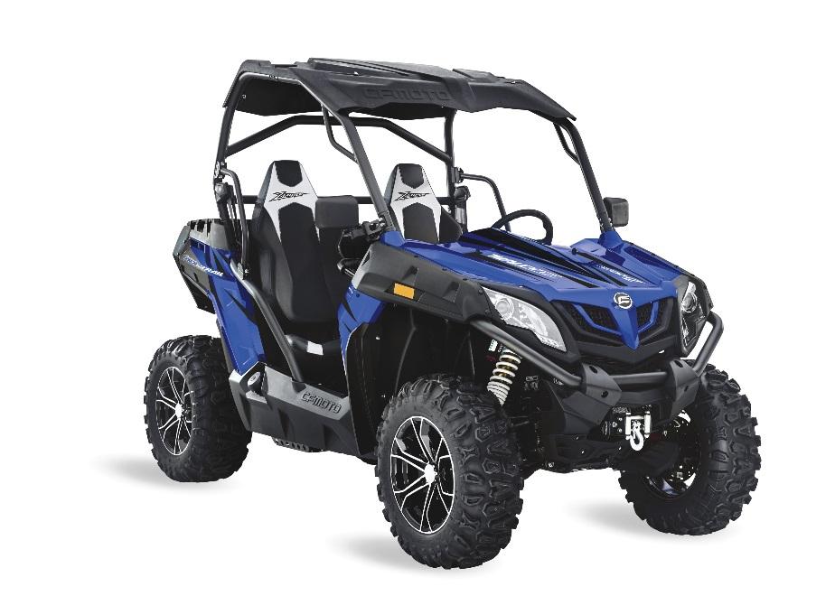 Recalled 2018 ZFORCE 800 Trail ROV