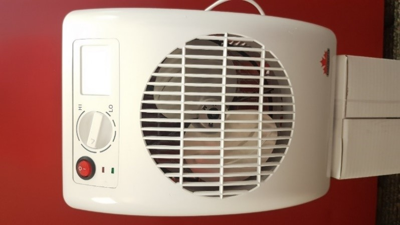 Recalled SF14TA Smart Thermaflo Bathroom Heater Fan with nightlight