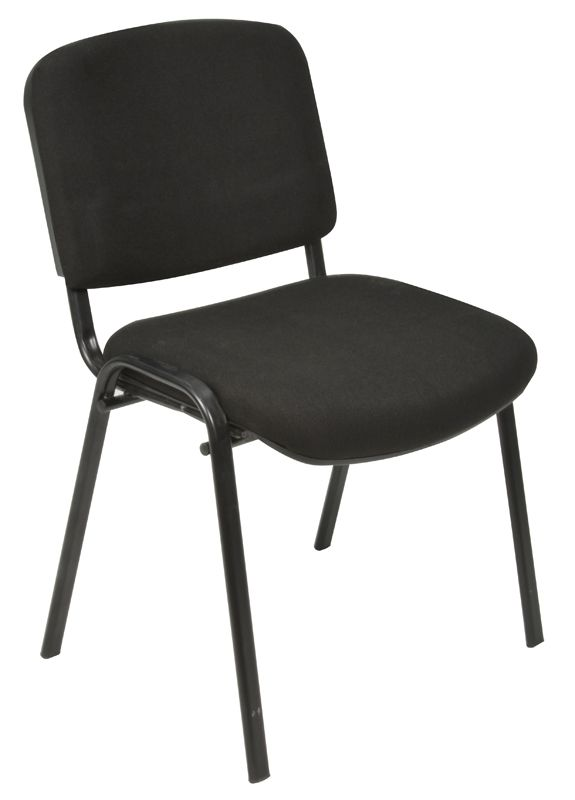 Oakmont black stackable chair