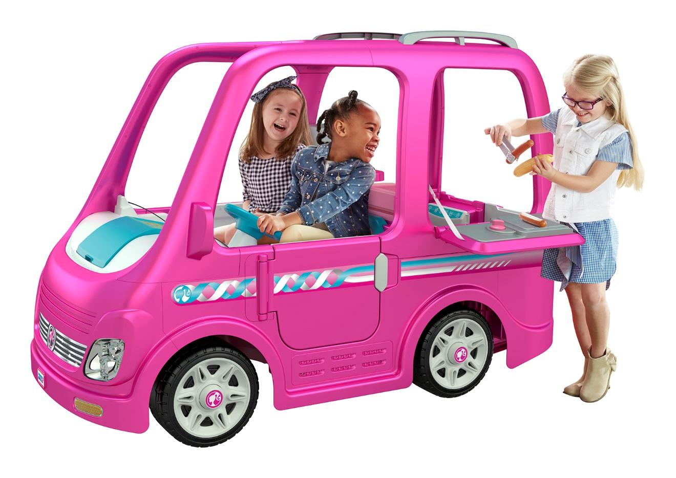 image of Children's Power Wheels Barbie Dream Campers