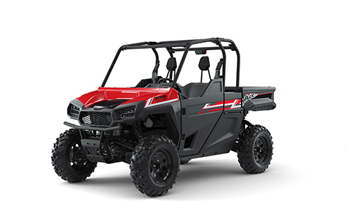 Recalled 2019 Havoc off-highway utility vehicle (red/black)