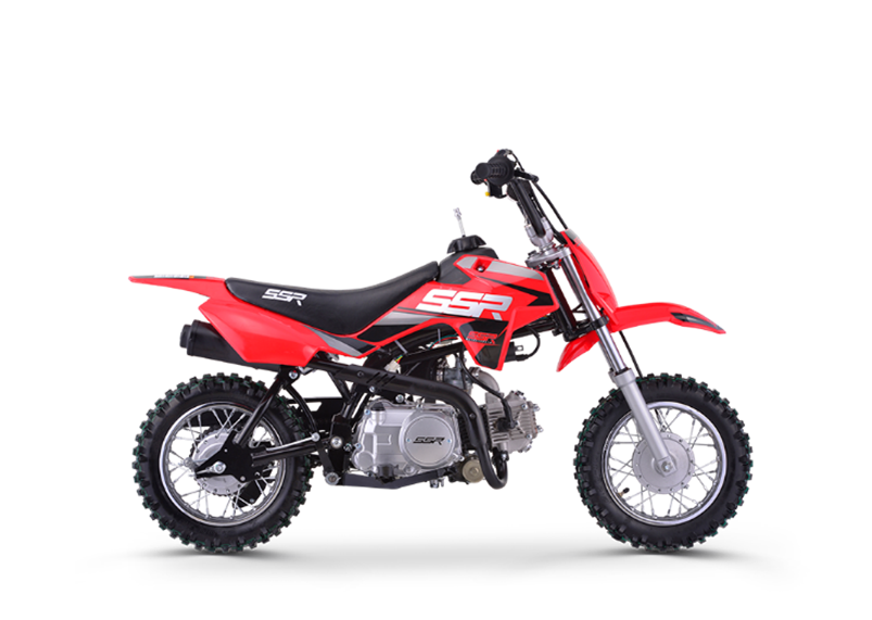 image of SSR Motorsports competition off-road motorcycle