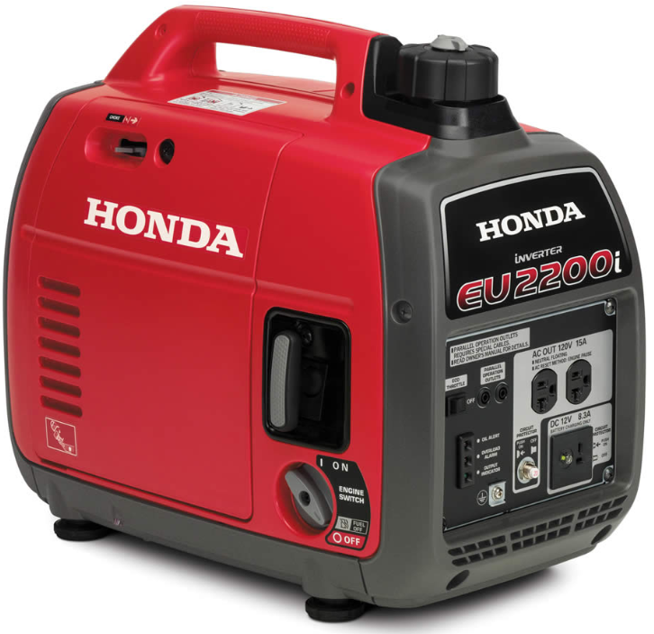 Recalled EU2200i portable generator