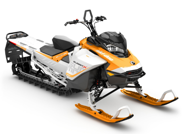 Recalled 2017 Summit X 850 E-TEC Orange/White