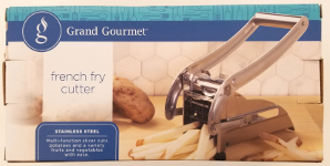 Recalled Grand Gourmet french fry cutter – packaging