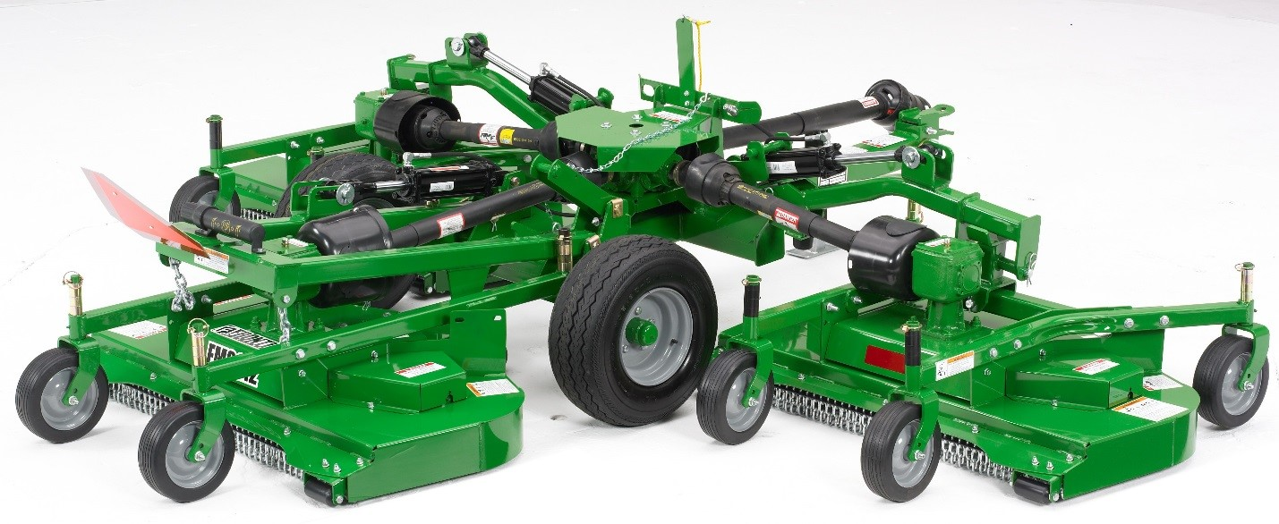 Recalled John Deere's Frontier Flex-Wing Grooming mower