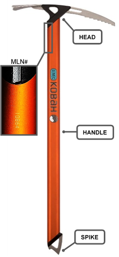 Recalled Kobah Ice Axe