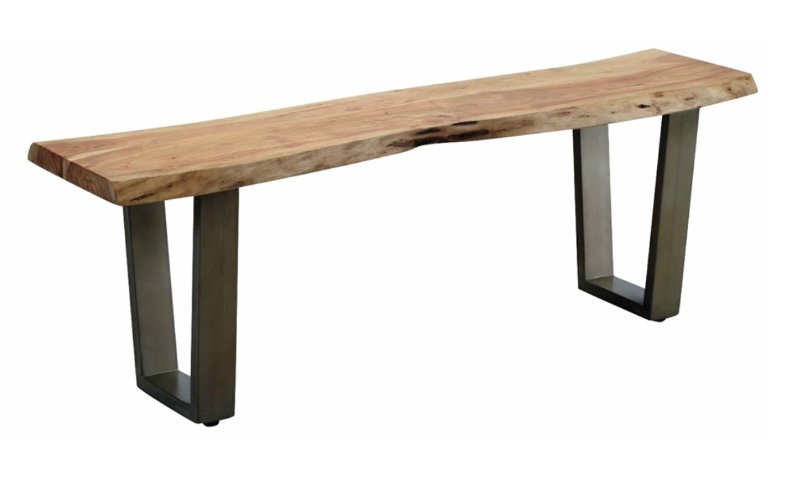 Recalled Modavari Forrest Live Edge Bench Model LE6