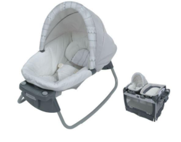 Recalled Graco Pack 'n Play Nuzzle Nest Playard
