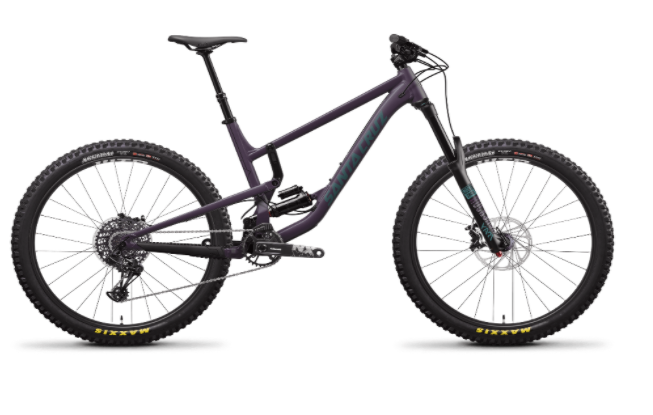 Recalled Santa Cruz Bicycle:  Nomad 4a Aluminum – Eggplant