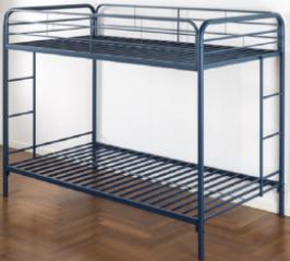 Recalled Zinus metal bunk bed (model RPBB)