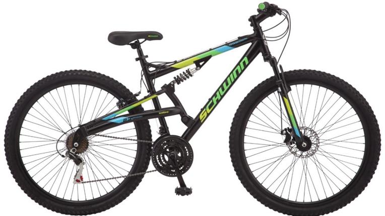 2018 Schwinn Abbott Adult Men's Full Suspension Mountain bicycle